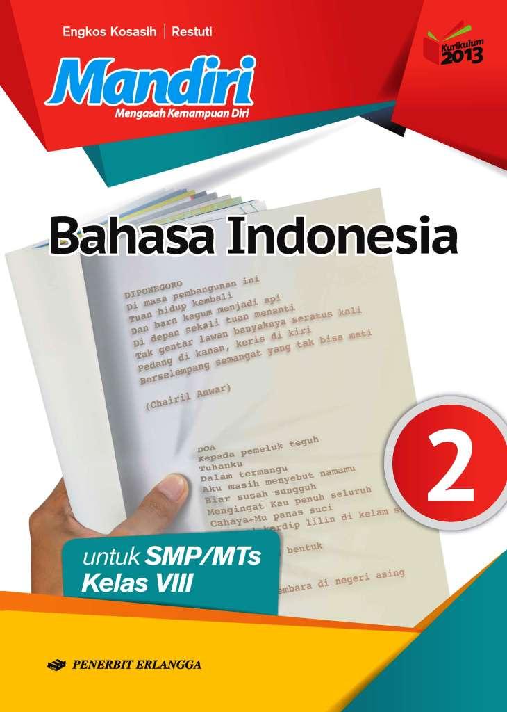 Mandiri Bahasa Indonesia Untuk Smp Mts Kelas Viii K13n